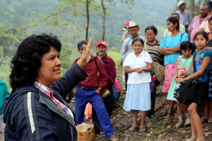Honduran Human Rights Defender Berta Cáceres Murdered