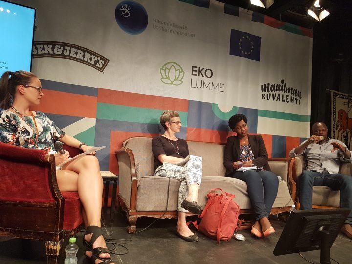 Painavaa asiaa ihmisoikeuksista ja yritysvastuusta Maailma Kylässä -festivaaleilla