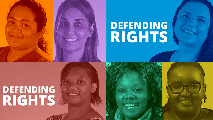 Meet six women defending human rights