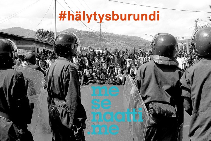 KIOS is Raising Awareness and Crowd-funding for Burundi