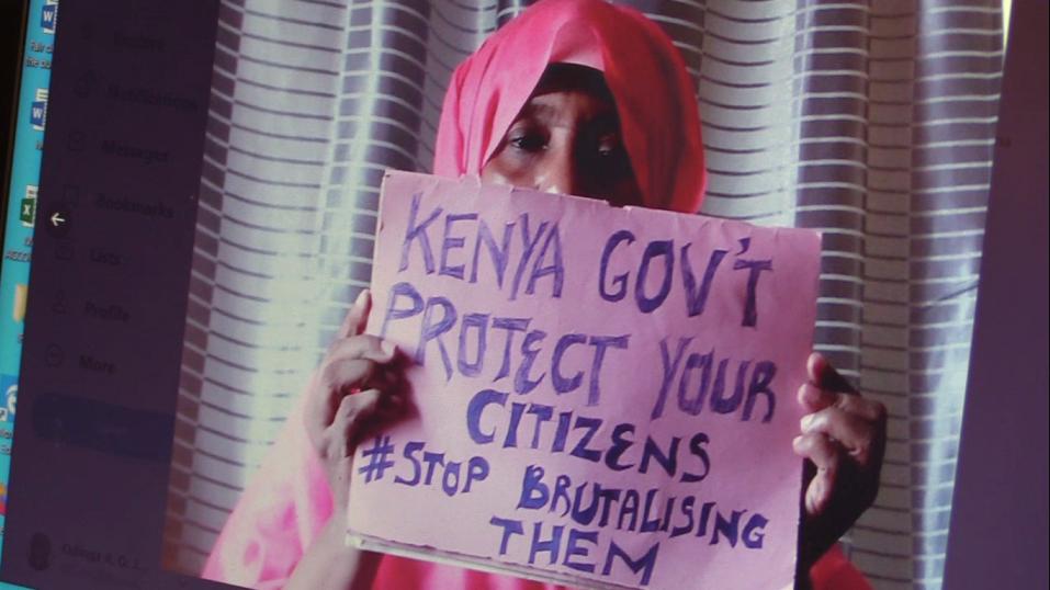 KIOSin tukema InformAction–järjestö on kampanjoinut poliisiväkivaltaa vastaan Keniassa.